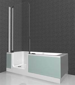 Badewanne Mit Dusche Integriert : duschbadewanne mit einstiegst r badewanne mit dusche integriert pictures to pin on pinterest ~ Sanjose-hotels-ca.com Haus und Dekorationen