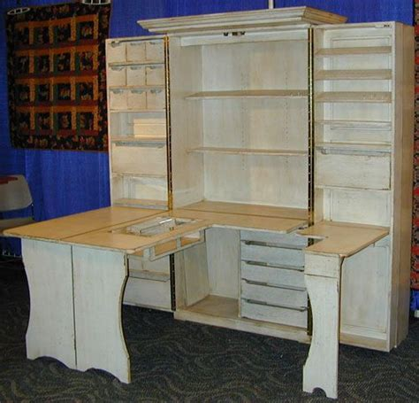 Sewing Machine Armoire Cabinet Best 25 Sewing Cabinet Ideas On Small Sewing