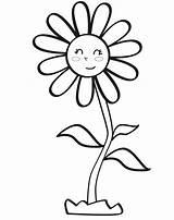 Margarita Colorear Para Coloring Dibujo Infantil Flowers Euroresidentes Dibujos Clip sketch template