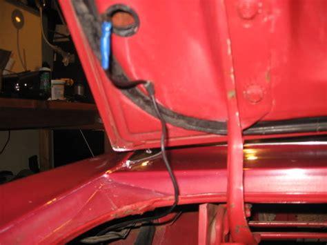 hood  trunk lights mustang forums  stangnet