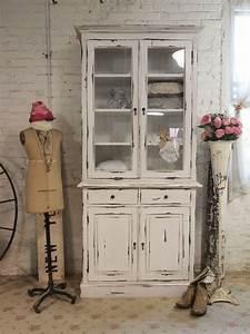 Was Ist Shabby Chic : shabby chic china cabinet ~ Orissabook.com Haus und Dekorationen