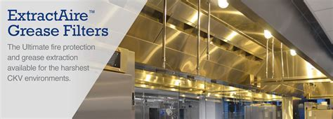 Grease Filters for Commercial Kitchen Hoods   Streivor Air