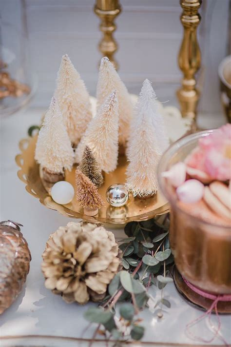 karas party ideas rose gold holiday party karas party