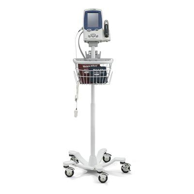 4700-60 Welch Allyn Mobile Stand with Basket - Steeles.com