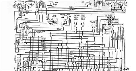Chevrolet Electrical Diagram by 1961 Chevrolet Corvair Electrical Wiring Diagram All