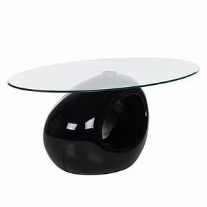Couchtisch Oval Glas : couchtische hochglanz schwarz preisvergleich die besten angebote online kaufen ~ Frokenaadalensverden.com Haus und Dekorationen