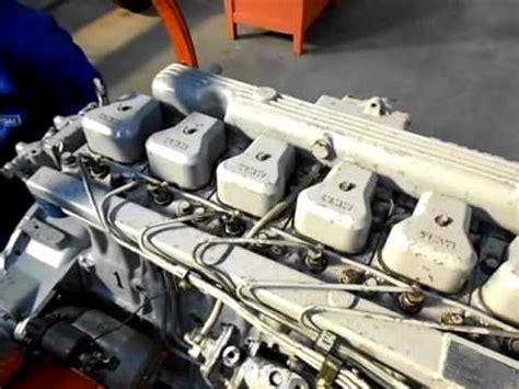 motor mwm 6 10 tca em funcionamento