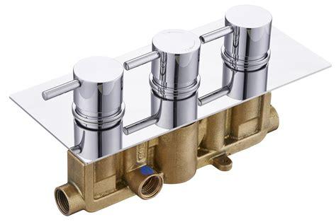 3 Outlet Shower Valve - concealed thermostatic shower mixer valve 3 handle 2