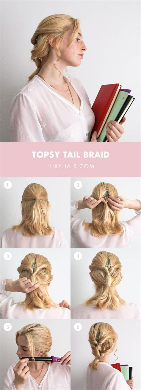 3 Easy Back To School Hairstyles For Short Hair