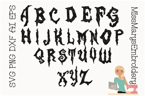 zombie letters sofontsy