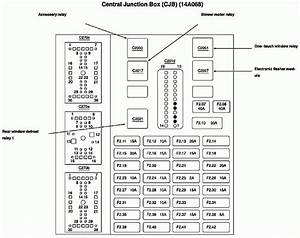2000 Ford Taurus Fuse Box Diagram