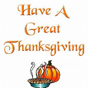 Happy Thanksgiving Animated Clipart - Clipart Suggest