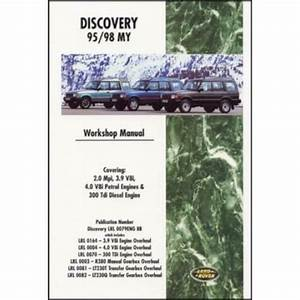 Land Rover Discovery Workshop Manual 1995