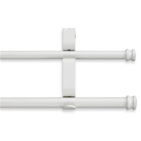 buy curtain rods double from bed bath beyond