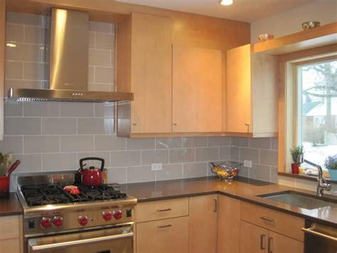 Subway Tile Backsplashes For Kitchens by Smoke Glass 4 Quot X 12 Quot Subway Tile Backsplash Tile