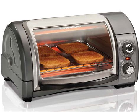 hamilton roll top toaster oven the weekend gourmet hamilton 4 slice easy reach