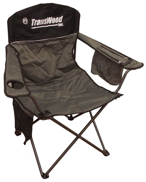 coleman deluxe folding chair ccdc 1 transwood carriers