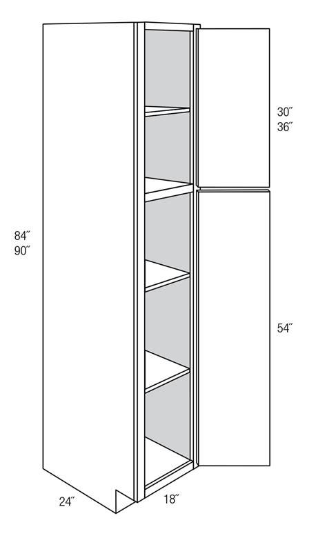 WP1890: Tall Pantry Cabinet: Amesbury Espresso RTA Kitchen