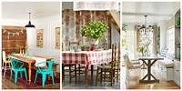 decorating dining room 85 Best Dining Room Decorating Ideas - Country Dining Room Decor