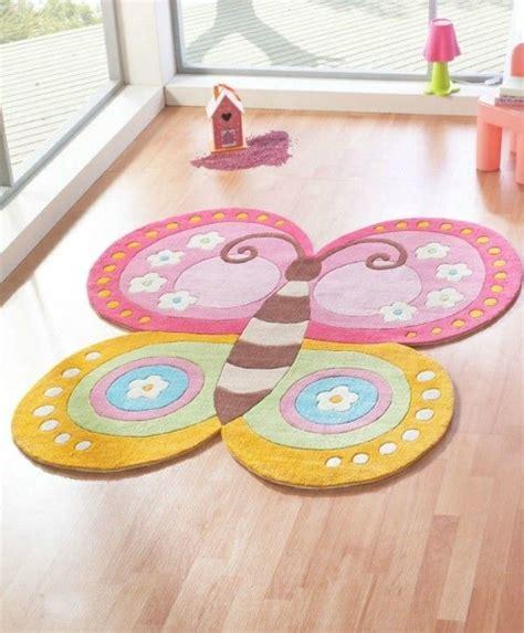 Teppichboden Kinderzimmer Mädchen by Schmetterling Kinderteppich M 228 Dchen Kinderzimmer