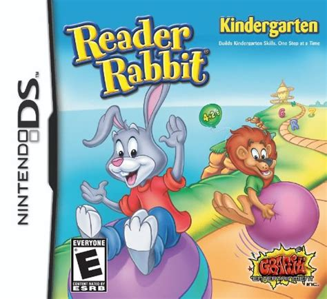 reader rabbit kindergarten nintendo ds 788 | ds reader rabbit kindergarten p bt3yna