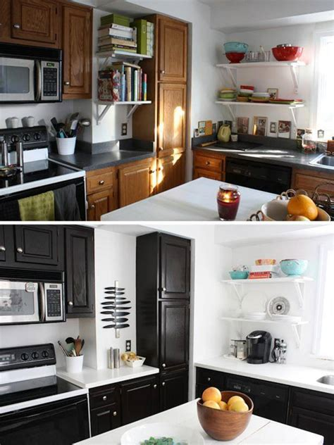 gel stain kitchen cabinets  great idea