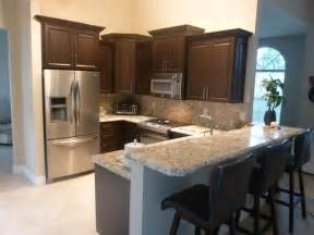 chocolate thermofoil kitchen cabinets kitchen miami by visions