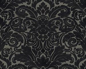 Tapete Barock Schwarz : flock tapete barock taupe schwarz architects paper 33583 6 ~ Yasmunasinghe.com Haus und Dekorationen