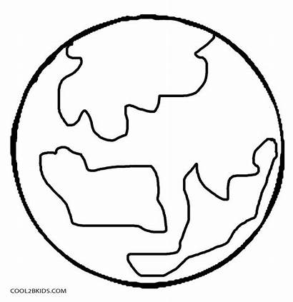 Planet Coloring Pages Planets Printable Drawing Cool2bkids