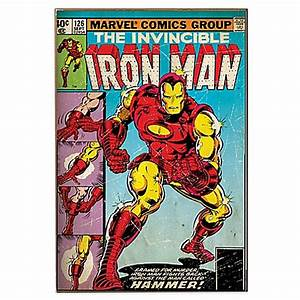 "Iron Man ""Hammer"" Marvel Comic Book Cover Wall Décor ..."