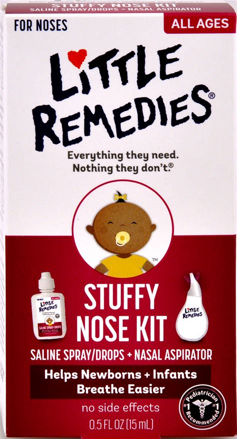 Little Remedies Stuffy Nose Kit