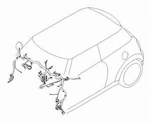 2011 Mini Cooper S Wiring Harness  Instrument Panel