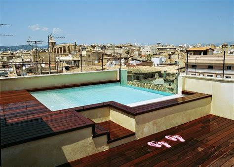 Pool Auf Dachterrasse by 8 Hotels With Rooftop Pools In Palma De Mallorca