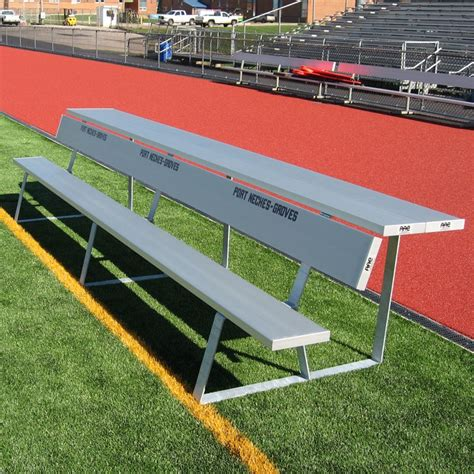 Soccer Benches Portable by Portable Team Bench With Shelf
