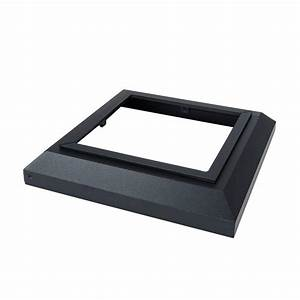 Simpson Strong-Tie DPPC Black Decorative Post Cover for 4