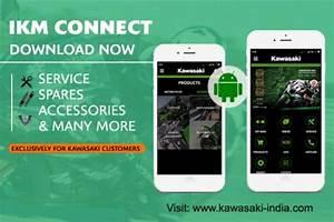 Ikm Auto : kawasaki india launches ikm connect mobile app team bhp ~ Gottalentnigeria.com Avis de Voitures