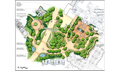 architectural site plan development site plans land use planning circulation