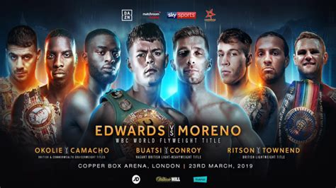 Charlie Edwards To Defend WBC Flyweight Title On Loaded ...