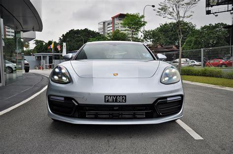 porsche front view test drive review porsche panamera autoworld com my