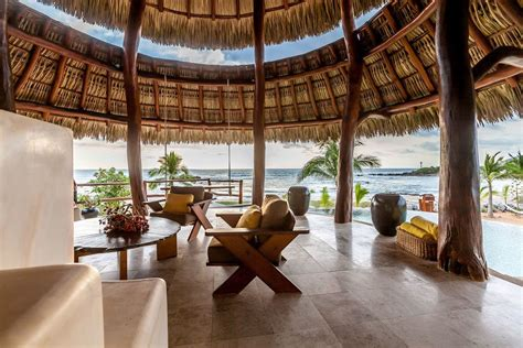 private oceanfront luxury retreat  troncones