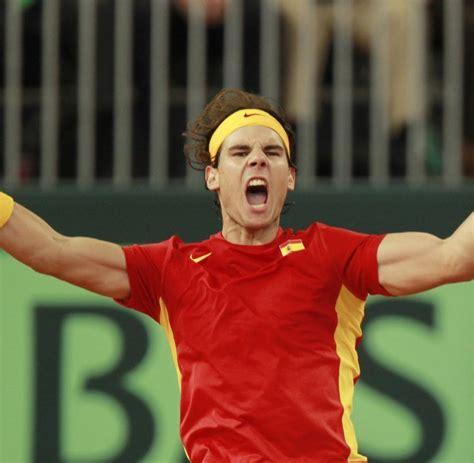 Tennis Rafael Nadal Fhrt Spanien Zum Davis Cup Erfolg Welt