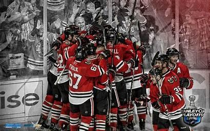 Blackhawks Chicago Cup Stanley Wallpapers Goal Wallpapersafari
