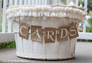 diy wedding card basket love of family home With diy wedding gift basket