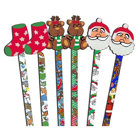 christmas galore combo writer pencils