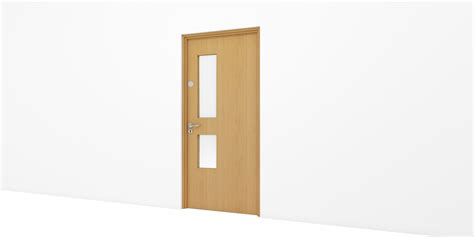 timber door select office single assa abloy opening