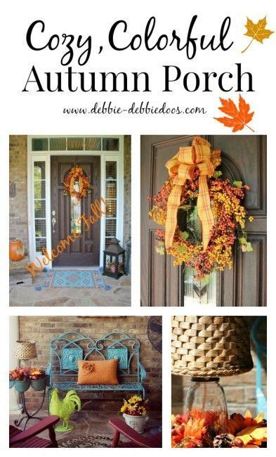 moulding front porch cozy add some serious fall cozy with some front porch and door
