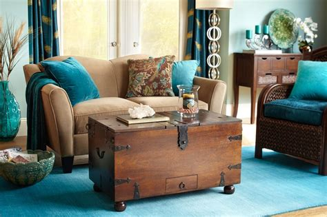 brown and teal living room decor teal living room room design living room