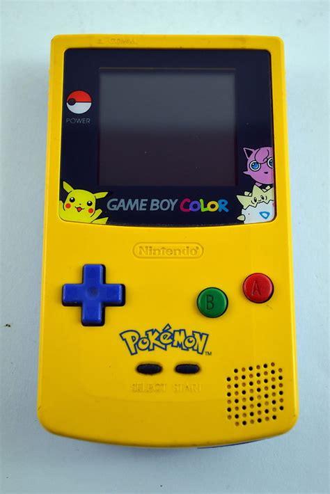 Nintendo Game Boy Color Pokemon Edition System Console