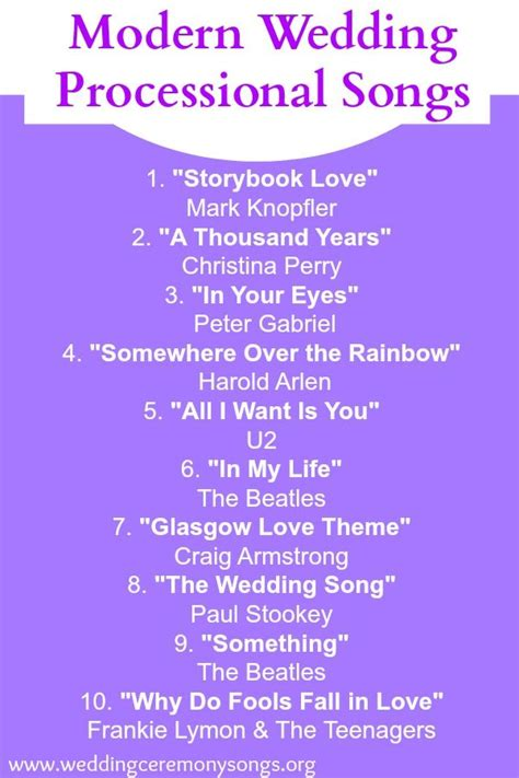17 best ideas about wedding processional songs pinterest best wedding songs processional