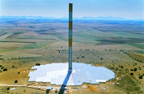 solar chimneys can convert air to energy but is